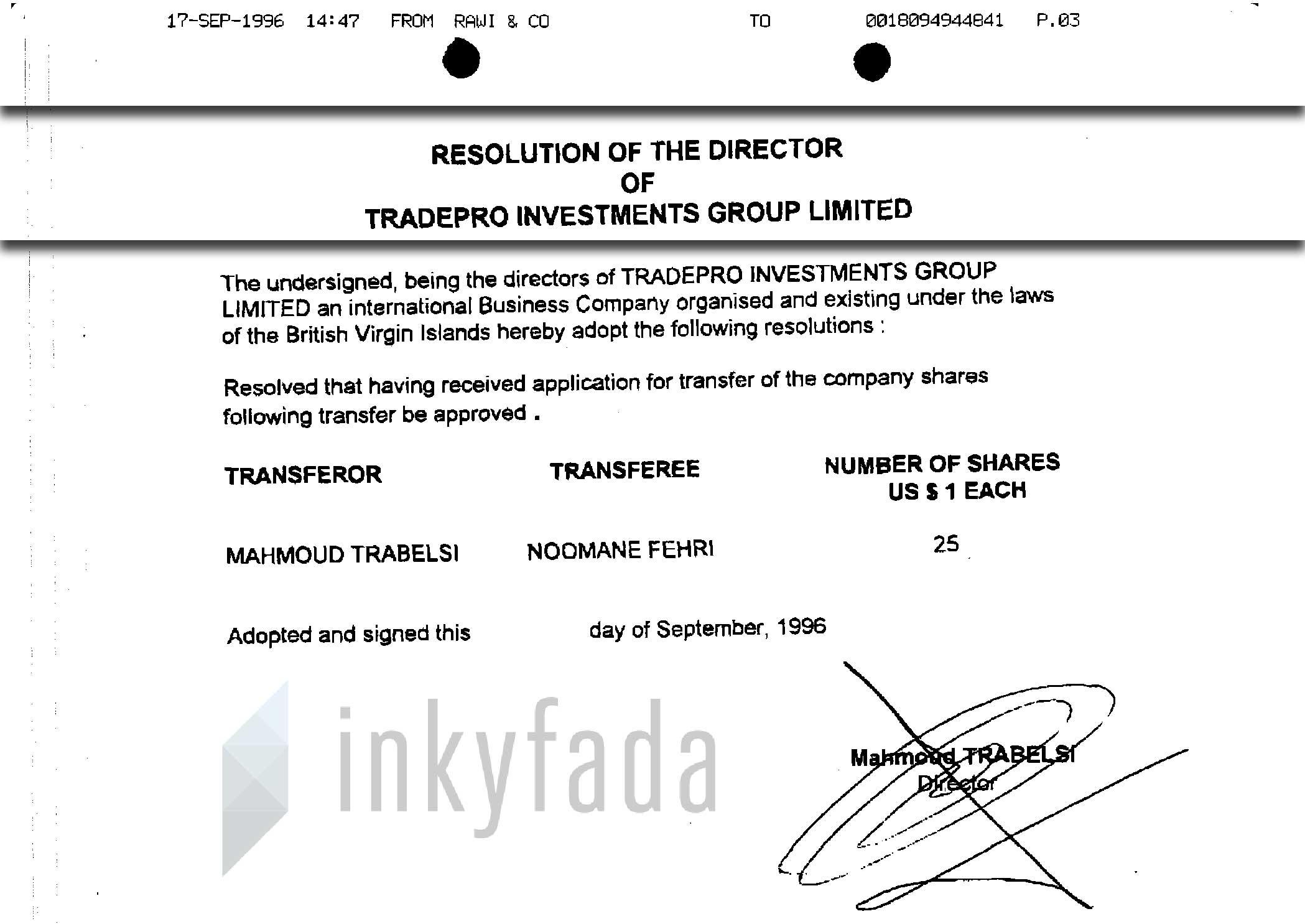 panamapapers-nooman-fehri-tradepro-information-system-minutes-directeurs-shaires-inkyfada
